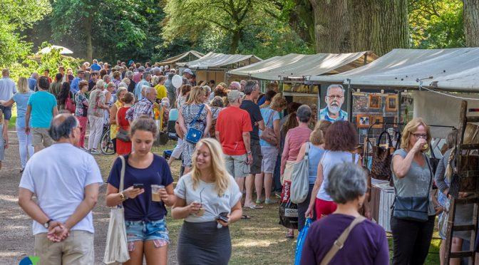 Kunstmarkt De Bilt 2016 (© Hans Lebbe - Oog op De Bilt)