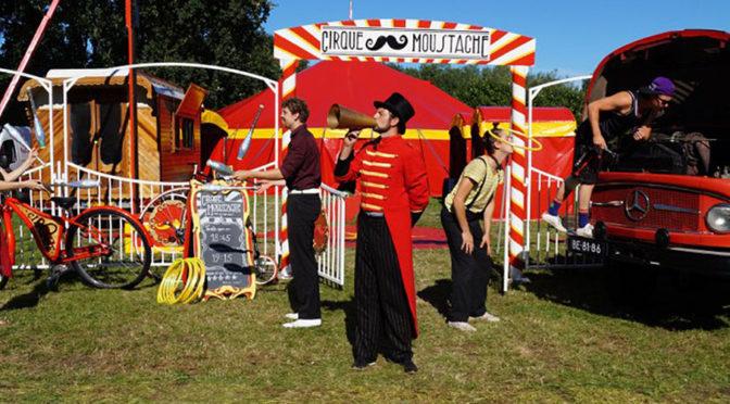 Cirque Moustache en de Kinderkaravaan